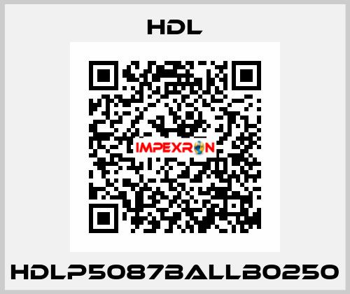 HDL-HDLP5087BALLB0250 price